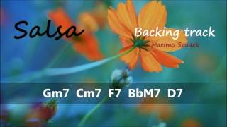 LATIN SALSA BACKING TRACK IN G POR PRACTICE AND IMPROVISATION