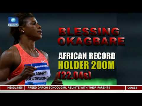 Okagbare Breaks African Record In Wes Kittley Invitational |Sports This Morning|