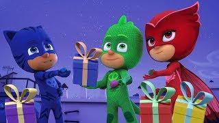 Герои в масках - Гекко спасает Рождество - Сборник (120 минут) - мультики для детей