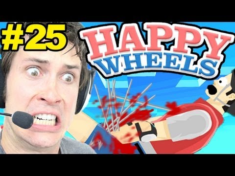 Happy Wheels - OW! MY PRIVATES!!