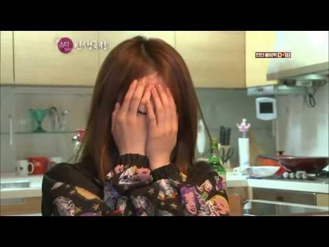 T-ARA - Jiyeon and Eunjung visit Hyomin at her home