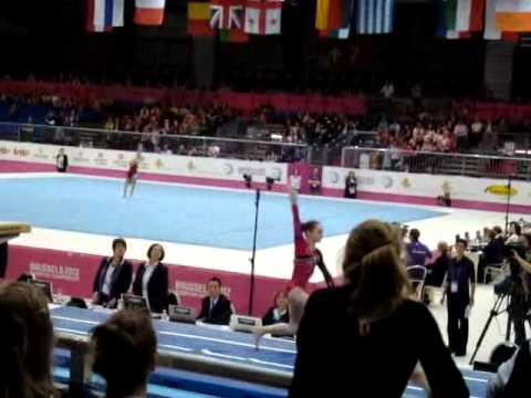 Julie CROCKET BEL, Vault Senior Qualification, European Gymnastics Championships 2012
