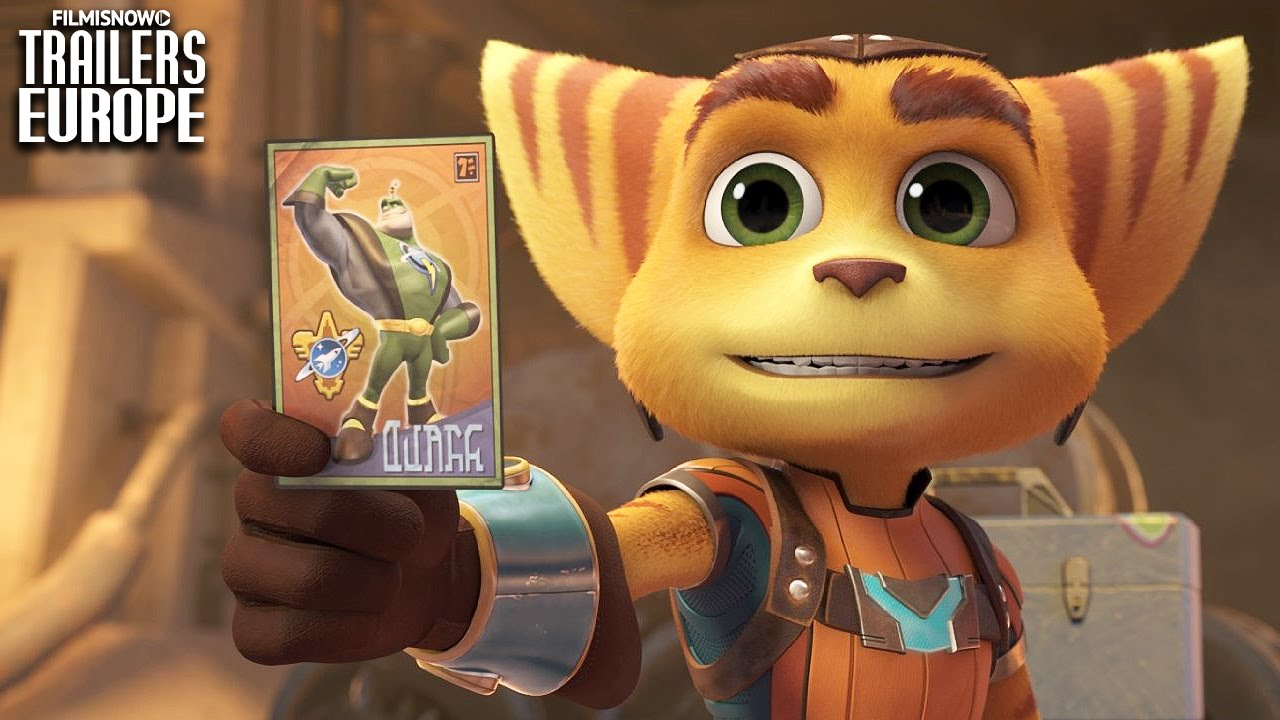 RATCHET & CLANK | Official UK Trailer [Animated Action Adventure] HD