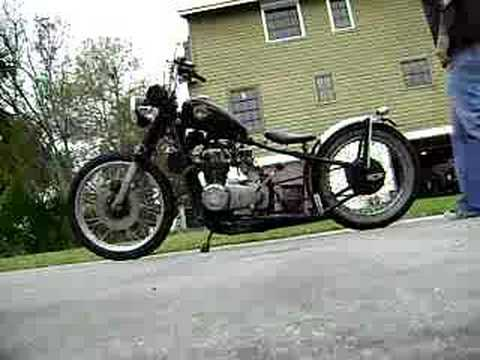 Honda Bobber Video
