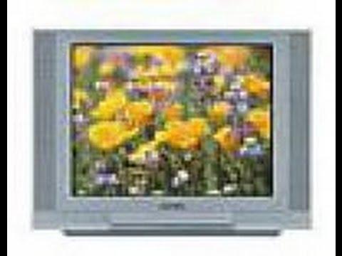 Ламповые телевизоры схема