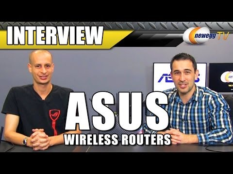 ASUS Wireless Router and Adapters Interview - Newegg TV
