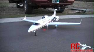 LearJet SFM290 LJ45 EDF Hobby Lobby with Retracts and Nav Lights