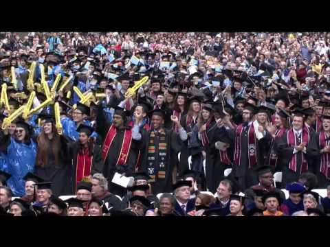 Yale University Commencement 2017