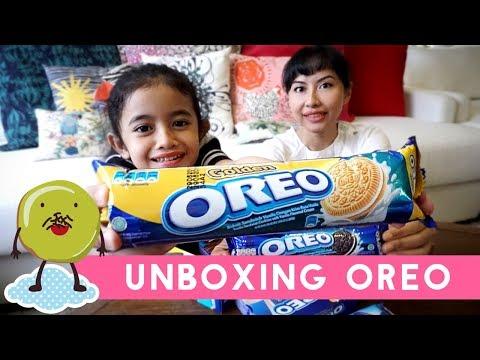 Putri Miranti Unboxing Oreo dari Seluruh Dunia