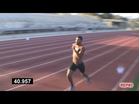 How to Run Faster: Track and Field Workout