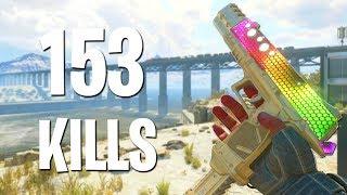 153 KILLS OVERPOWERED STRIFE Pistol GAMEPLAY! (BO4 Update 1.08)