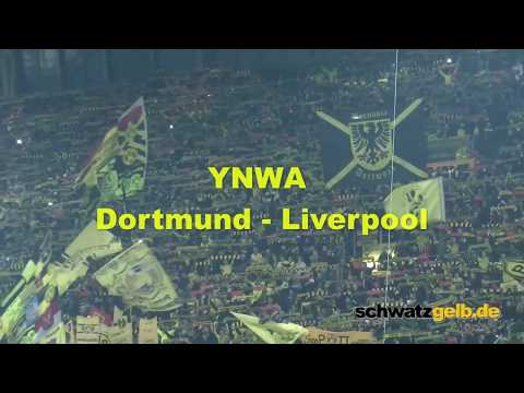 Dortmund and Liverpool Fans singing best YNWA award 2016 YOU