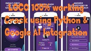 LOCO Trivia Game 100% Working Crack (Python Script with Google AI) - (Bakchod Roomies)