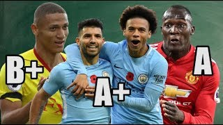 GRADED! The Premier League's Top Half Clubs' Season So Far