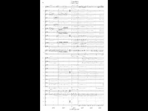Alto Saxophone Concerto for Wind Band - Transition - Caleb Hugo