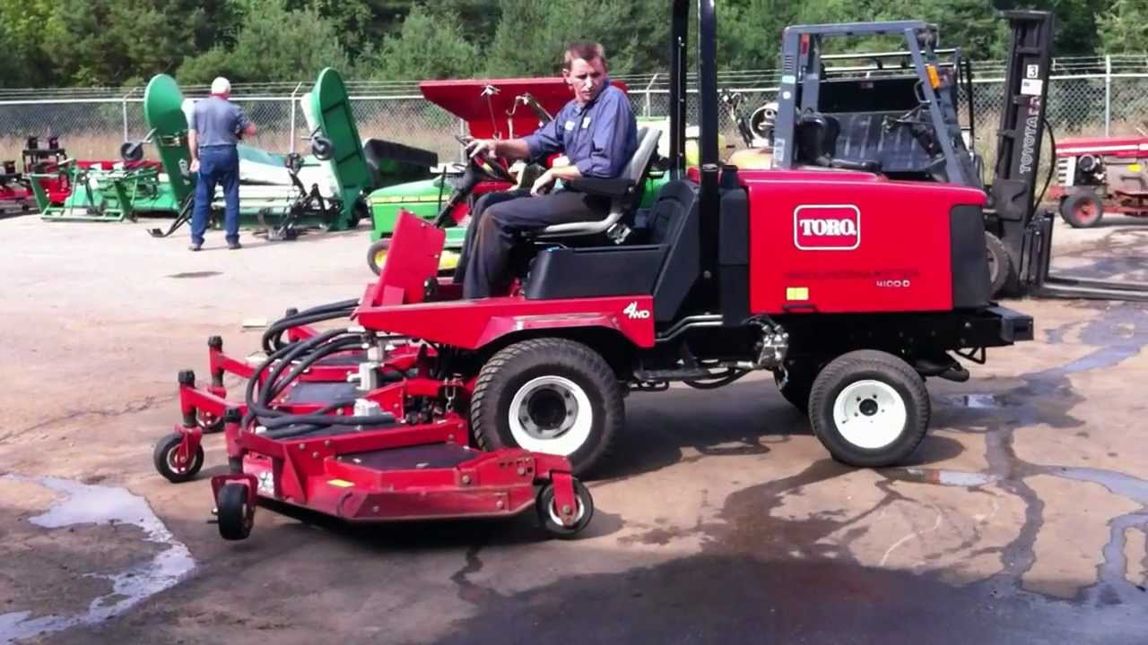 Toro 120 Groundsmaster Images Of Home Design Wire Diagram Model 4100 D 4wd Wide Area Rotary Mower