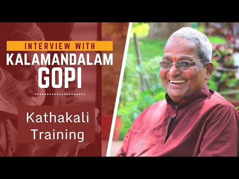Kalamandalam Gopi on Traditional ...
