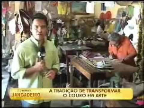 Jornal Jangadeiro - Matéria com Expedito Seleiro, Nova Olinda - CE