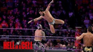 Cedric Alexander, Lince Dorado & Sin Cara vs. Nese, Gulak & Daivari: WWE Hell in a Cell 2016 Kickoff