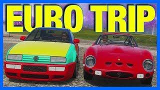 Forza Horizon 4 Online : BEST EURO TRIP CAR CHALLENGE!!