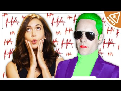 Hear Jared Leto's Crazy JOKER Voice! (Nerdist News w/ Jessica Chobot Special Report)