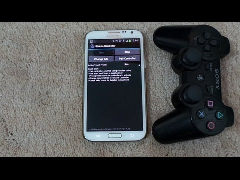 How To Connect A PS3 Controller With S5. S4. Note 3 and Many More Android Devices in Easy Way