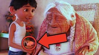 COCO Pixar Easter Eggs & Story Analysis