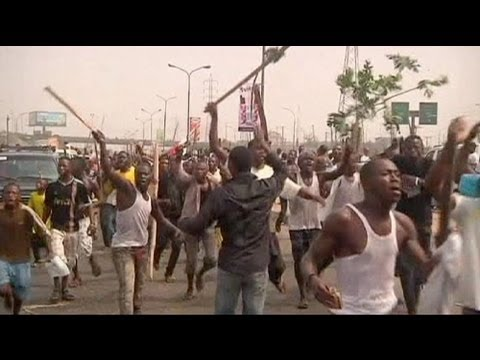 Three dead in Nigeria fuel strike clashes