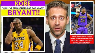 Kobe Bryant(Lakers) The Blame For Terrible Season? On First Take Stephen/Max [Commentary]