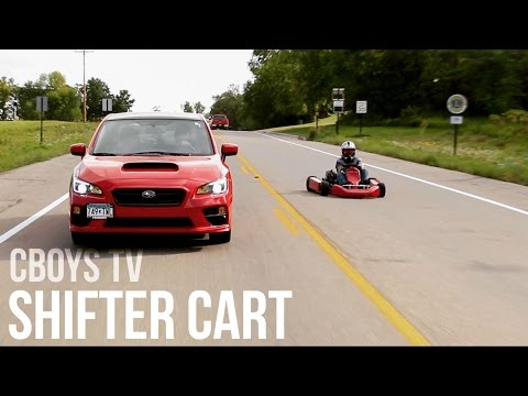 Shifter Kart on Highway; The Cops Were Looking For Us!!