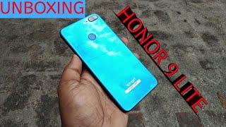 Honor 9 Lite : Unboxing & Short Review