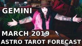 Gemini Monthly Astro Tarot Forecast March 2019