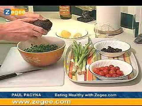 Zegee.com – Healthy Eating – Avocado, Kale Salad