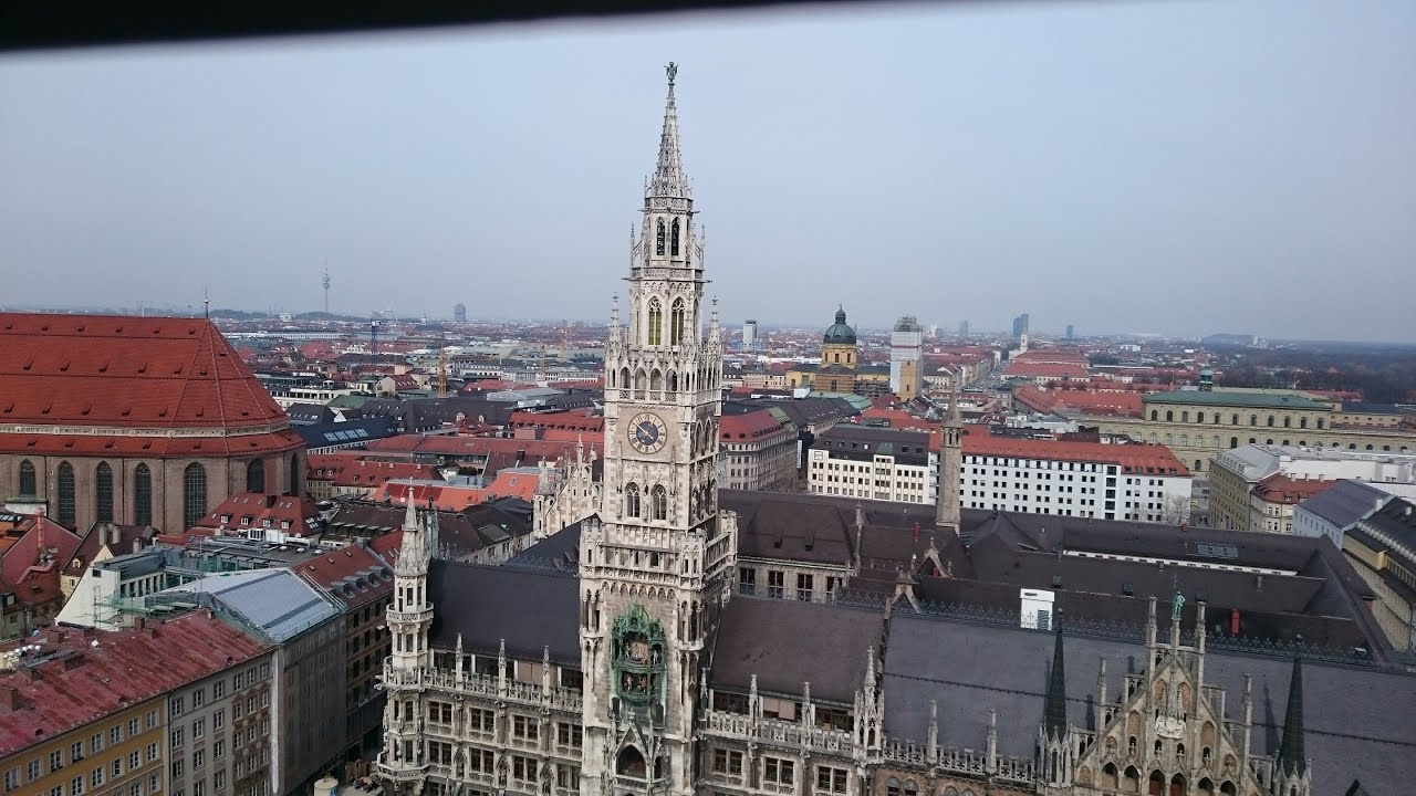 [View from st. Peter's churc Munich] Video