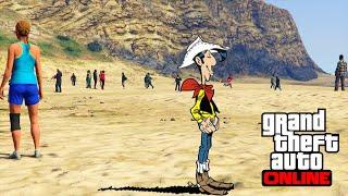 LUCKY LUKE (Nouveau jeu) GTA 5 ONLINE