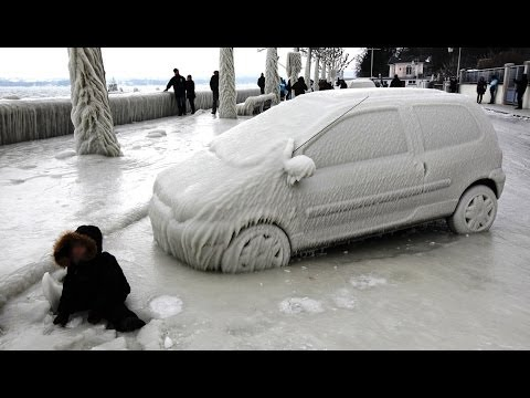 Freezing Weather - Polar Cold Vortex on United States : News Video