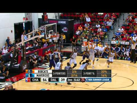 Dallas Mavericks vs Charlotte Bobcats Summer League Recap