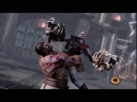 God of War 3 KRATOS vs HERCULES = HD