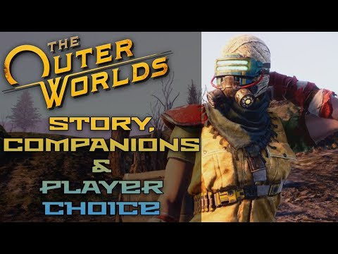 The Outer Worlds INFO BLOWOUT: Story Details, Companions, Player Choice, & MORE!