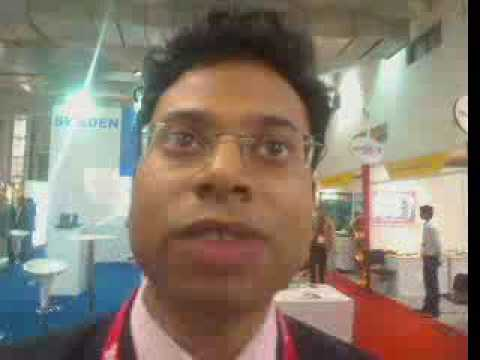 India Telecom 2009 - Vijay Kannan - webcam interview recorded Video - tor  3 dec 2009 23.12.29