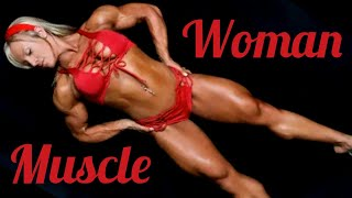 Muscle Woman | Female Bodybuilder | Fitness Model | Strong Girl | Bodybuilding Motivation | FBB IFBB