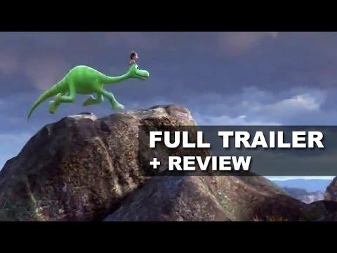 The Good Dinosaur Official Teaser Trailer + Trailer Review - Pixar 2015 : Beyond The Trailer