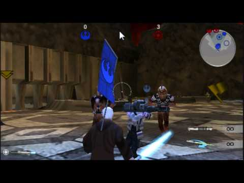 Star Wars Battlefront Renegade Squadron Online Gameplay [PSP]-Mustafar HD