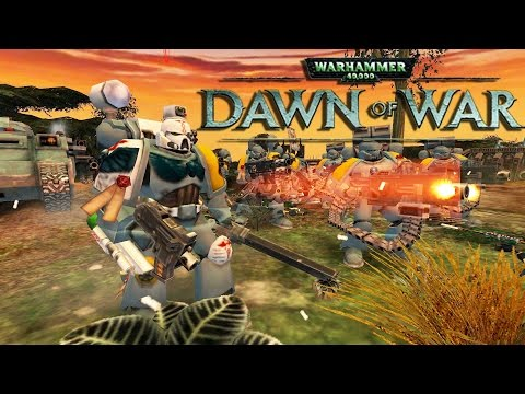 Dawn of War Ultimate Apocalypse UPDATE! - Space Wolves VS Necron's
