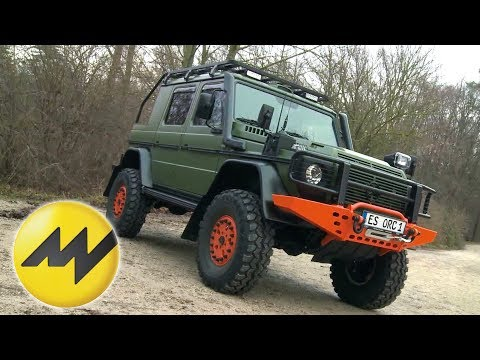 Mercedes G-Klasse - Offroad Sonderanfertigung 