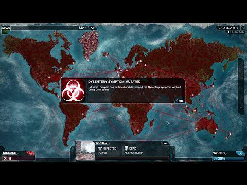 Virus Mega Brutal Plague Inc: Evolved Gameplay