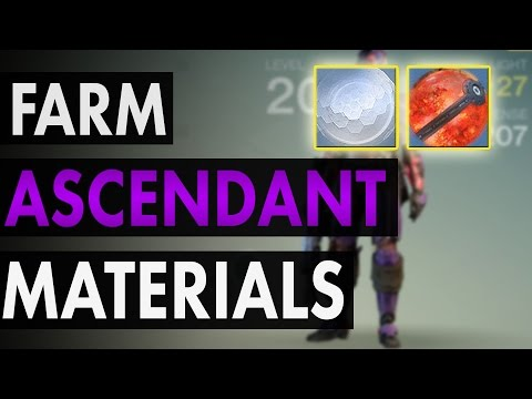 How To Farm Ascendant Shards And Ascendant Energy - Destiny Material Guide
