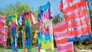 Tie-Dye 101: Tips & Tricks