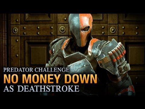 Batman: Arkham Origins - No Money Down [as Deathstroke] - Predator Challenge
