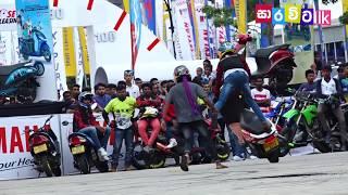Colombo Motor Show 2018 - Bike Stunt